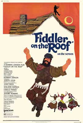 Fiddler on the Roof - 27 x 40 Movie Poster - Style B
