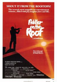 Fiddler on the Roof - 43 x 62 Movie Poster - Bus Shelter Style A