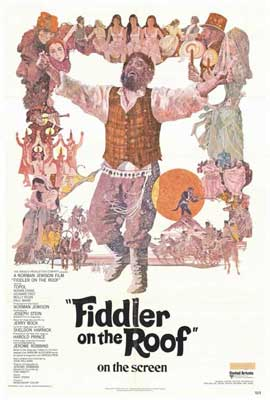Fiddler on the Roof - 27 x 40 Movie Poster - Style A