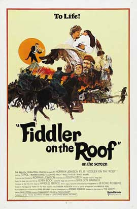 Fiddler on the Roof - 11 x 17 Movie Poster - Style D