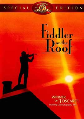 Fiddler on the Roof - 27 x 40 Movie Poster - Style D