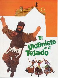 Fiddler on the Roof - 27 x 40 Movie Poster - Spanish Style A