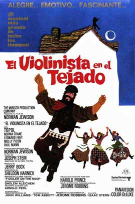 Fiddler on the Roof - 27 x 40 Movie Poster - Spanish Style B