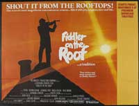 Fiddler on the Roof - 30 x 40 Movie Poster UK - Style A