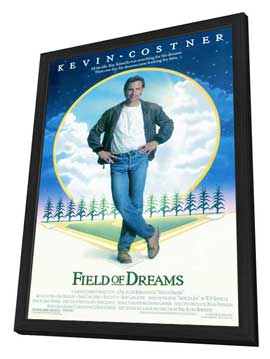 Field of Dreams - 11 x 17 Movie Poster - Style A - in Deluxe Wood Frame