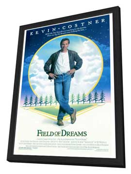 Field of Dreams - 27 x 40 Movie Poster - Style A - in Deluxe Wood Frame