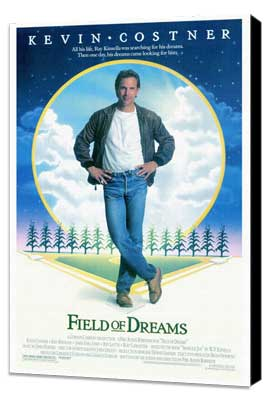 Field of Dreams - 27 x 40 Movie Poster - Style A - Museum Wrapped Canvas