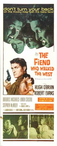 Fiend Who Walked the West - 14 x 36 Movie Poster - Insert Style A