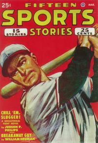 Fifteen Sports Stories (Pulp) - 11 x 17 Pulp Poster - Style A