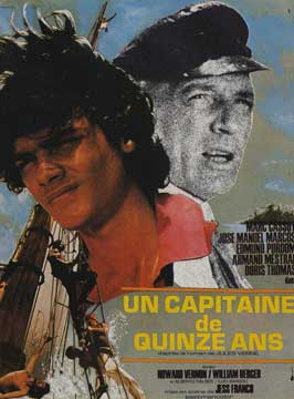 Fifteen Year Old Captain - 11 x 17 Movie Poster - French Style A