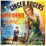Fifth Avenue Girl - 30 x 30 Movie Poster - Style A