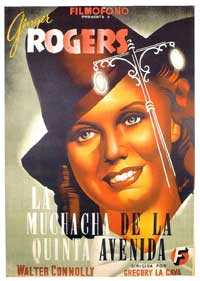 Fifth Avenue Girl - 11 x 17 Movie Poster - Spanish Style A
