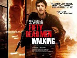 Fifty Dead Men Walking - 11 x 17 Movie Poster - Style A