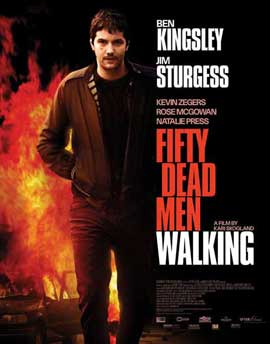 Fifty Dead Men Walking - 27 x 40 Movie Poster - Style B