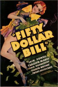 Fifty Dollar Bill - 11 x 17 Movie Poster - Style A