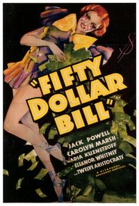 Fifty Dollar Bill - 27 x 40 Movie Poster - Style A