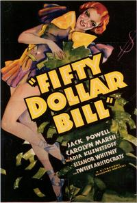 Fifty Dollar Bill - 43 x 62 Movie Poster - Bus Shelter Style A