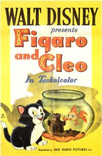 Figaro and Cleo - 43 x 62 Movie Poster - Bus Shelter Style A