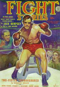 Fight Stories (Pulp) - 11 x 17 Pulp Poster - Style A