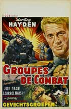 Fighter Attack - 11 x 17 Movie Poster - Belgian Style A