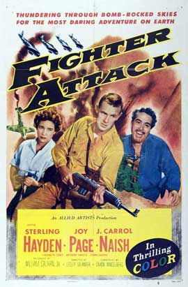 Fighter Attack - 11 x 17 Movie Poster - Style A