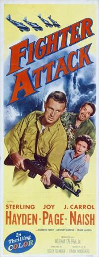 Fighter Attack - 14 x 36 Movie Poster - Insert Style A