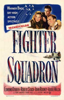 Fighter Squadron - 11 x 17 Movie Poster - Style A