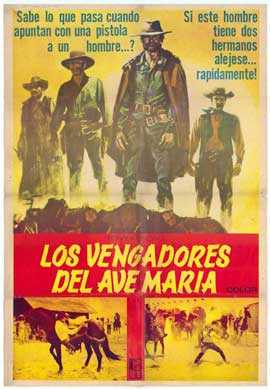 Fighters from Ave Maria - 11 x 17 Movie Poster - Spanish Style A