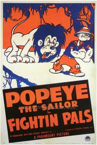 Fightin' Pals - 43 x 62 Movie Poster - Bus Shelter Style A