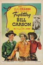Fighting Bill Carson - 27 x 40 Movie Poster - Style A