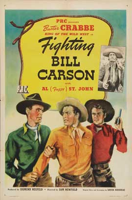 Fighting Bill Carson - 11 x 17 Movie Poster - Style A