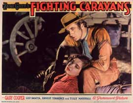 Fighting Caravans - 11 x 14 Movie Poster - Style A