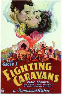 Fighting Caravans - 43 x 62 Movie Poster - Bus Shelter Style A