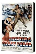 Fighting Coast Guard - 11 x 17 Movie Poster - Style A - Museum Wrapped Canvas