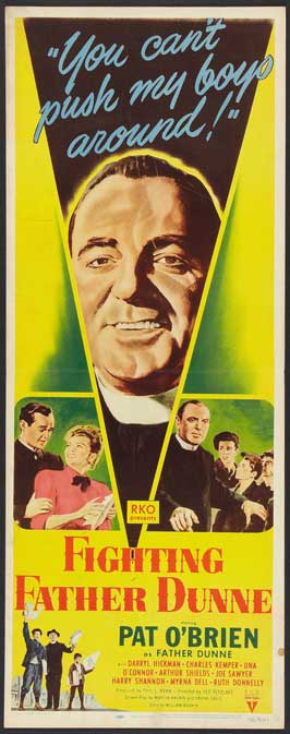 Fighting Father Dunne - 14 x 36 Movie Poster - Insert Style A