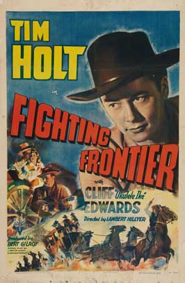 Fighting Frontier - 27 x 40 Movie Poster - Style A