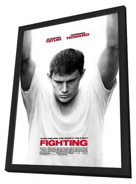 Fighting - 11 x 17 Movie Poster - Style A - in Deluxe Wood Frame