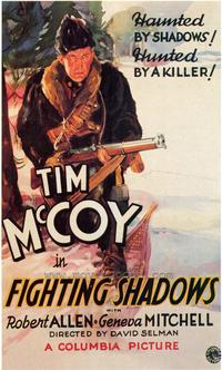 Fighting Shadows - 43 x 62 Movie Poster - Bus Shelter Style A