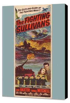 Fighting Sullivans, Show Boat - 27 x 40 Movie Poster - Style A - Museum Wrapped Canvas