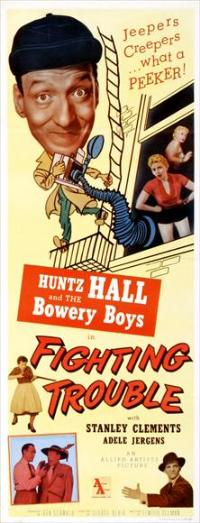 Fighting Trouble - 14 x 36 Movie Poster - Insert Style A