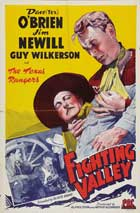Fighting Valley - 27 x 40 Movie Poster - Style A