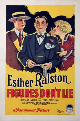 Figures Don't Lie - 27 x 40 Movie Poster - Style B
