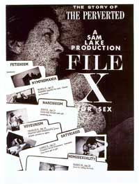 File X for Sex: The Perverted - 11 x 17 Movie Poster - Style A