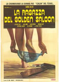 Les Filles du Golden Saloon - 39 x 55 Movie Poster - Italian Style A