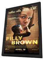 Filly Brown - 11 x 17 Movie Poster - Style A - in Deluxe Wood Frame