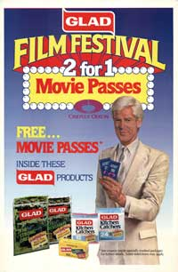 Film Festival Movie Passes - 43 x 62 Movie Poster - Bus Shelter Style A