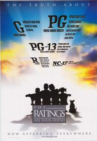 Film Ratings - 43 x 62 Movie Poster - Bus Shelter Style A