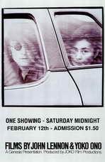Films By John Lennon & Yoko Ono - 11 x 17 Movie Poster - Style A