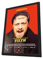 Filth - 11 x 17 Movie Poster - Style A - in Deluxe Wood Frame