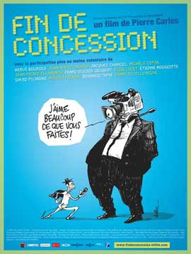 Fin de concession - 11 x 17 Movie Poster - French Style A